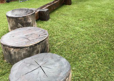 Timber Balance Beams