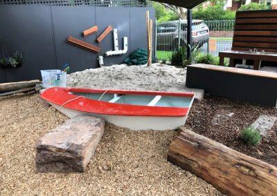 Outdoor Kitchen Sand Play